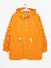 Hooded Parka  Yellow