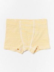 Striped Boxer Shorts  Yellow
