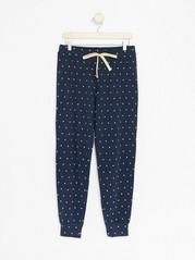Prickiga pyjamasbyxor Blå