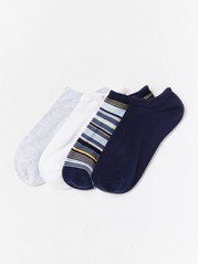 4-pack Footies Blue