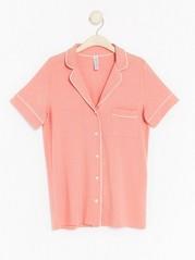 Pyžamová košile Korálová