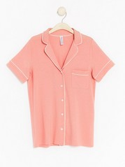 Night Shirt in Tencel® Blend Coral