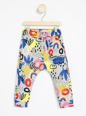 Mønstrede bukser Grå