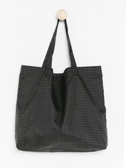 Foldable Shopper  Black