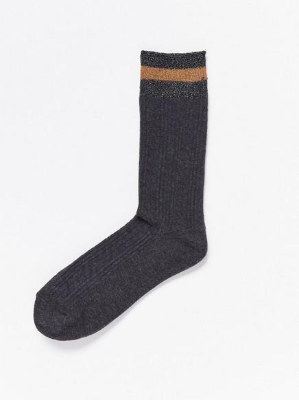 Pletené ponožky Šedivá