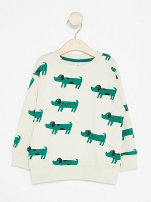 Oversized Sweatshirt Beige