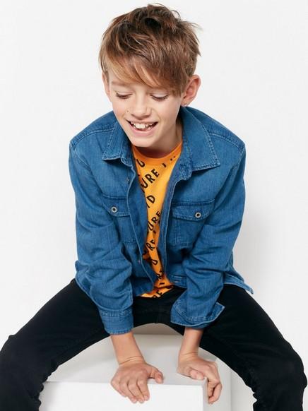 Denimskjorte Blå