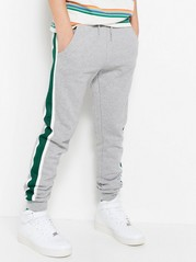 Sweatpants with Side Stripes Grey