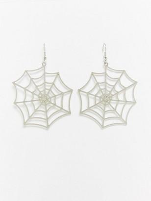 Hämähäkinseittikorvakorut Metalli