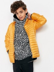 Padded Jacket Orange