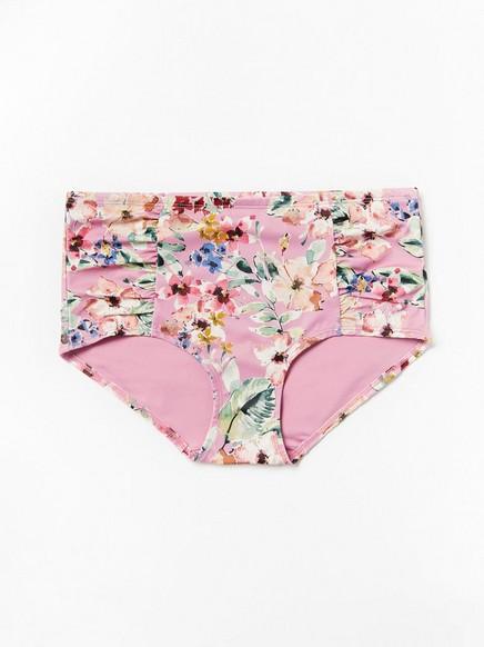 Bikinihousut Classic Midi Vaaleanpunainen