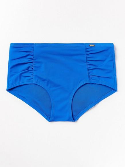 Klassisk bikinitruse med mellomhøyt liv Blå