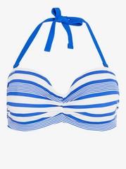 Bandeau bikini-bh Blå