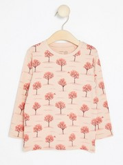 Top with Fruit Trees Pink