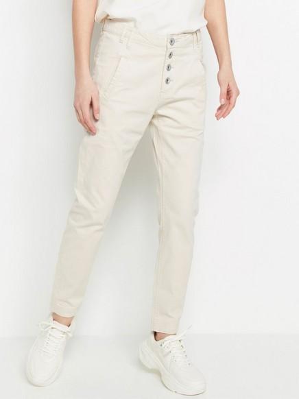 MAIA Tapered Regular bukse Beige