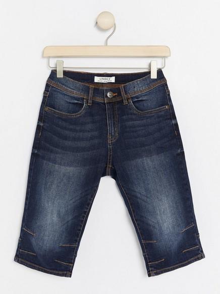 Regular Denim-shorts Blå