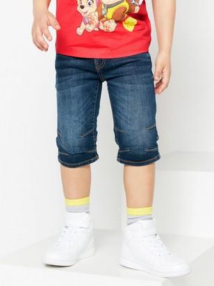 Regular shorts Blå