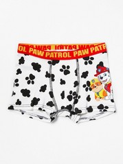 Boxer Shorts with Paw Patrol White