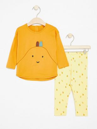 Set with Pears Yellow