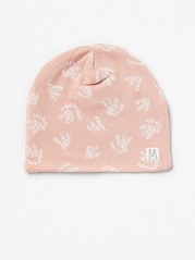 Patterned Jersey Cap Pink