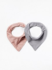 2-Pack Scarves Pink