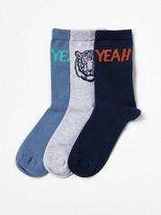 3-pack Socks Blue