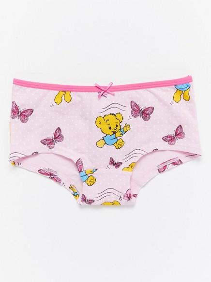Kalhotky smotivem zkomiksu Bamse Růžová