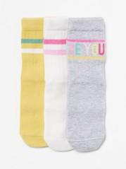3-pack Ribbed Socks White
