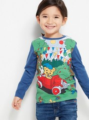 Bamse Top with Long Sleeves Blue