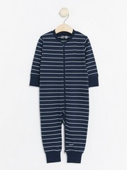 Striped Pyjamas Blue
