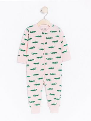 Krokodil Pyjamas Rosa