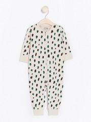 Leopardikuvioitu pyjama Beige