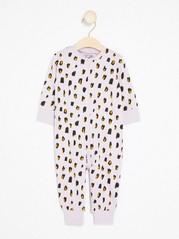 Leopardikuvioitu pyjama Liila