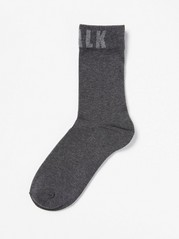 Socks with Text Black