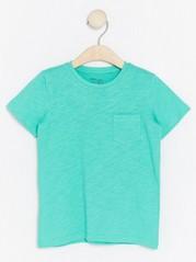 T-paita trikoosta Turkoosi