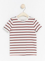Striped T-shirt White