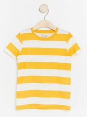 Striped T-shirt Yellow