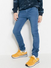 Slim Super Stretch Trousers Blue