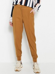 AVA Tapered Trousers  Brown