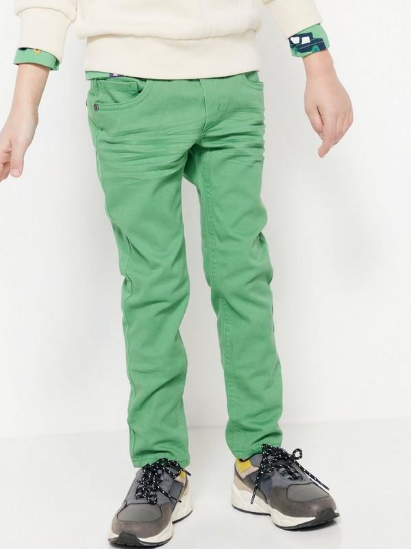 d77be5d2 Grønn Smal bukse med strikk i livet 99,50 | Lindex