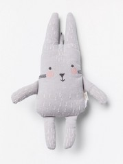 Soft Toy Bunny Grey