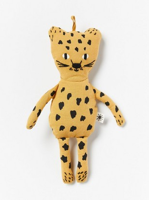 Soft Toy Leopard Yellow