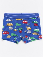 Boxer Shorts with Cars Blue