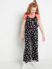 Floral Jumpsuit Black