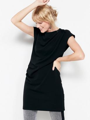 Black Jersey Tunic Black