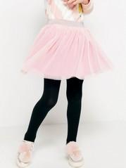 Pleated Tulle Skirt  Pink