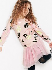 Sweater with Lollipops Pink