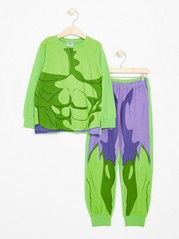 Pyjama Set with Hulk Green