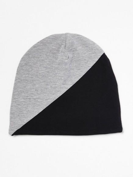 Jerseylue i svart og grått Svart