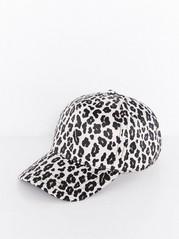 Kiiltävä leopardilippis Beige